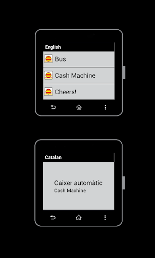 Catalan for SmartWatch 2