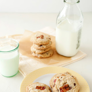 Candied Bacon Chocolate Chip Cookies.