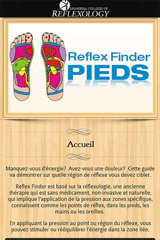 Reflex Finder : Pieds