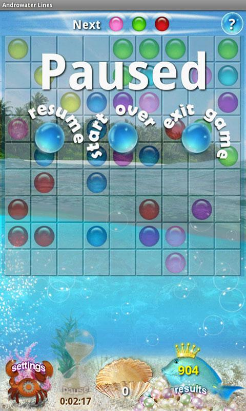 Androwater Lines Classic Plus - screenshot