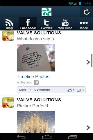 VALVE SOLUTIONS- screenshot