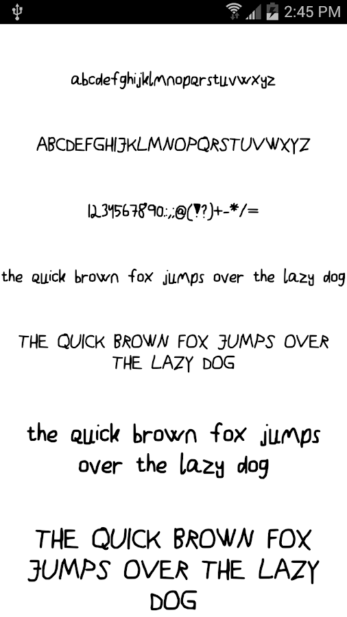 Fonts for FlipFont #16- screenshot