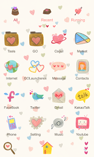 Kiss Me - GO Launcher Theme - screenshot thumbnail