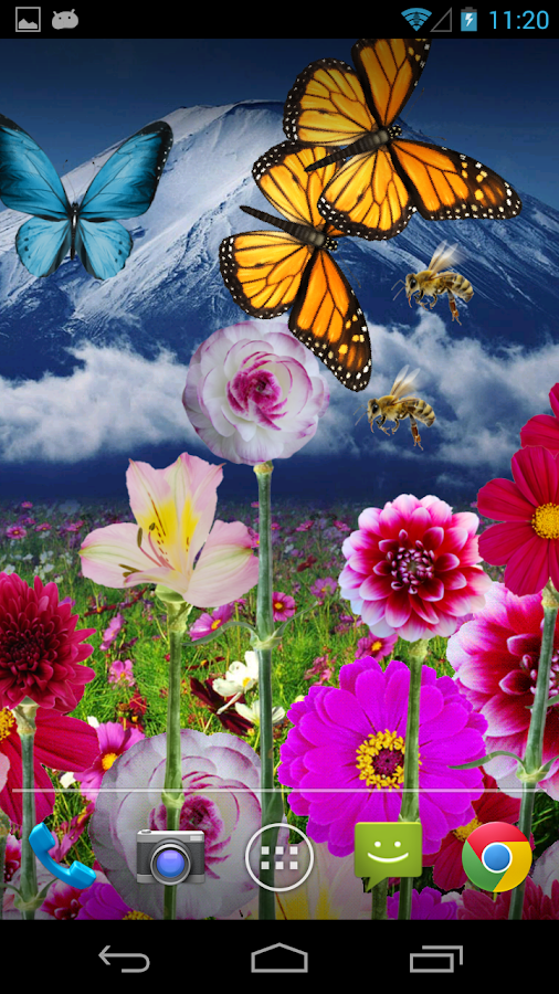Flowers HD LWP! - screenshot