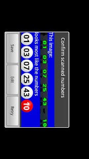 Powerball Scanner Lite - screenshot thumbnail