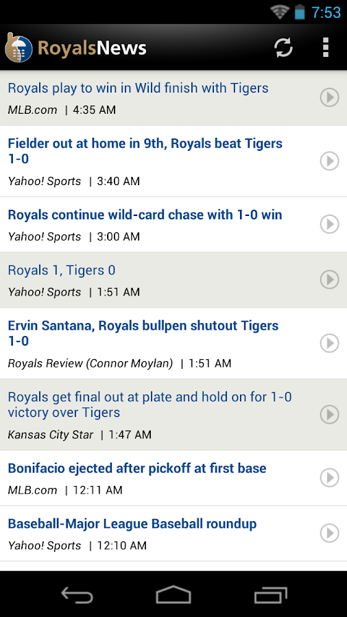 ZM: Royals News - screenshot