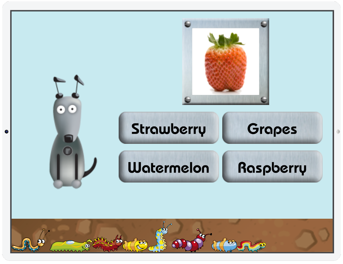 Learn with Rufus: Categories- screenshot