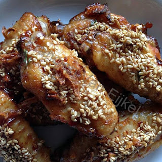 Spicy Chicken Wings.