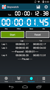 Timers4Me - Timer & Stopwatch- screenshot thumbnail