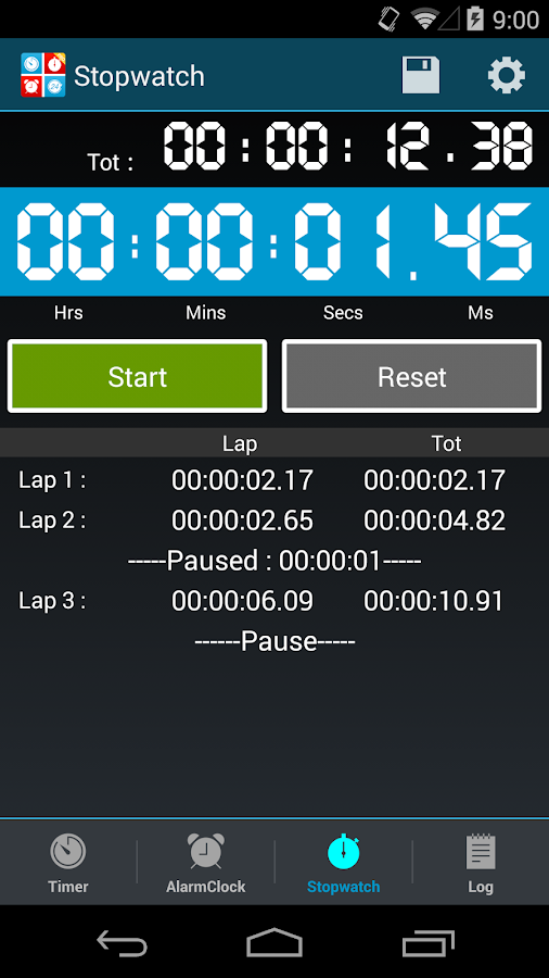 Timers4Me - Timer & Stopwatch- screenshot