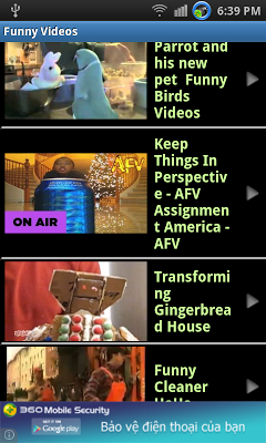 Funny videos - screenshot