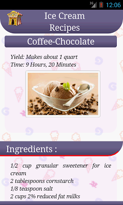 Ice Cream Cooking - screenshot