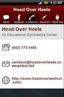 Screenshot of Head Over Heels