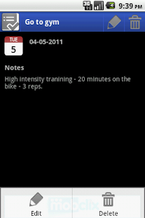 Activity Log- screenshot thumbnail