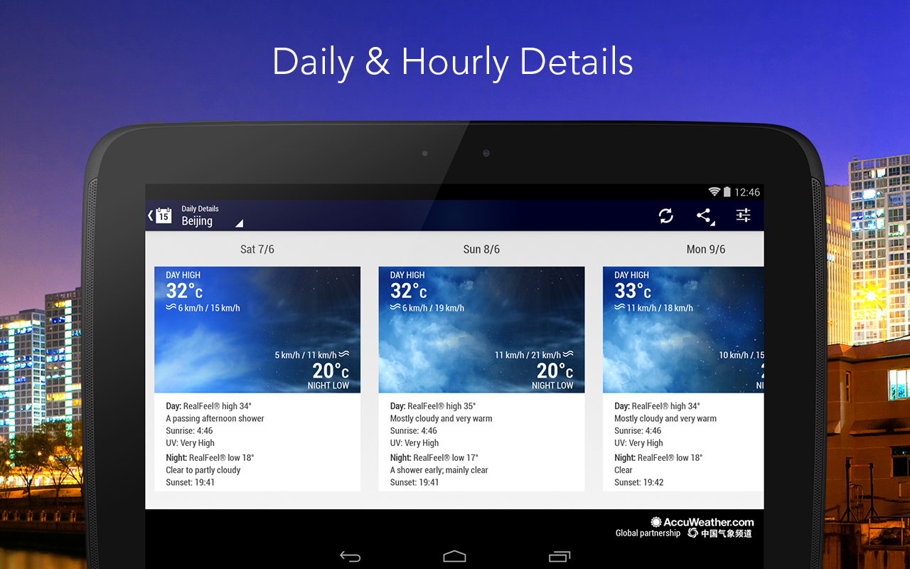 AccuWeather Platinum - screenshot