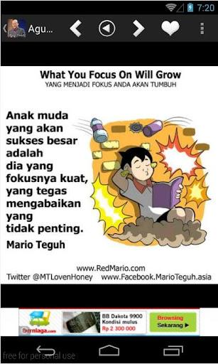 Motivasi Gambar Mario Teguh