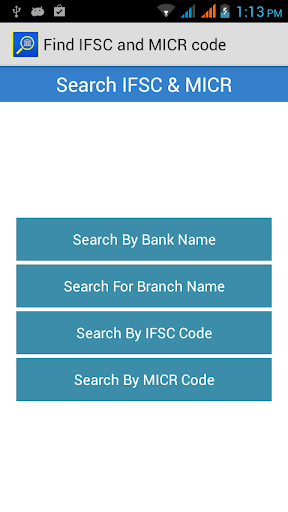 Find IFSC and MICR code