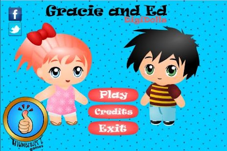 Gracie and Ed Digi-Dolls Free - screenshot thumbnail