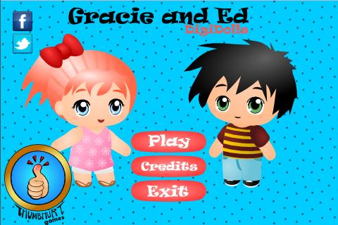 Gracie and Ed Digi-Dolls Free - screenshot