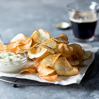 Fries with Tarragon Truffle Aioli