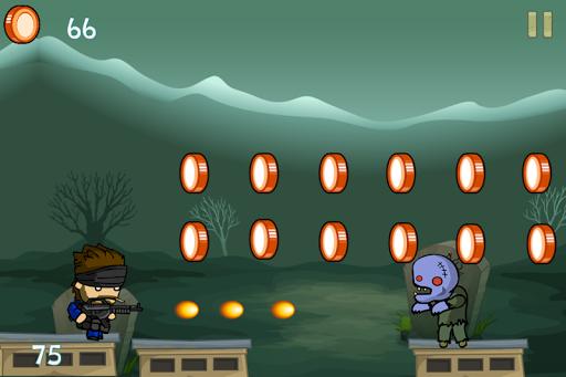 Soldier Boys in Zombieland