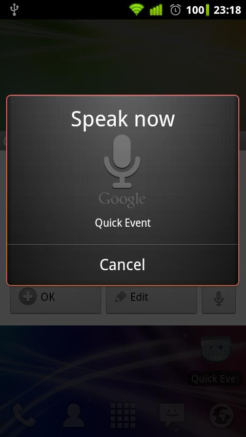 Quick Event - screenshot
