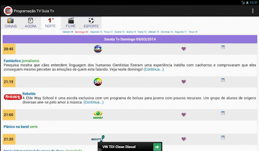 Programação TV - Guia TV BR- screenshot thumbnail