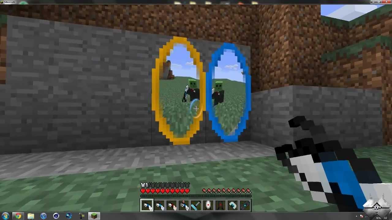 Мод на все предметы из портала 2 для minecraft 1.7.10