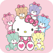 HELLO KITTY Battery Widget1