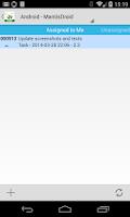Screenshot of MantisDroid Free