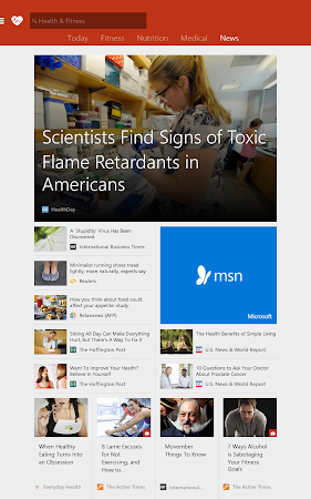 MSN Health & Fitness- Workouts 1.2.0 screenshot 18581