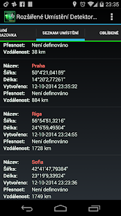 AdvancedLocationDetector (GPS) - náhled