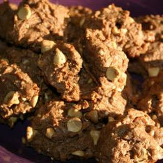 Eggless Chocolate Peanut Butter Cookies.