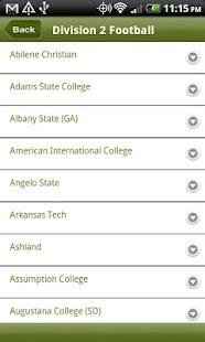 rVenues NCAA Football Stadiums- screenshot thumbnail