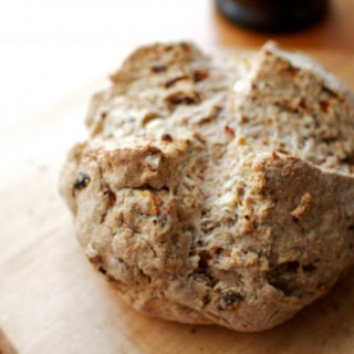 Feta and Sun-Dried Tomato Soda Bread.