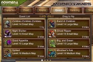 Screenshot of Duel: Blade & Magic Pro