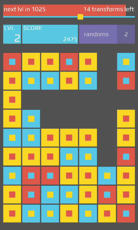 R.Y.B. Squares - screenshot