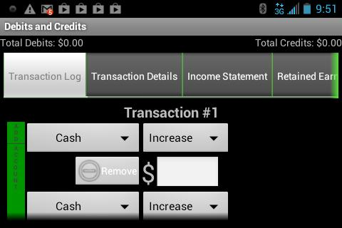 Debits and Credits Trainer
