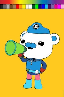 玩休閒App|Octonauts Cartoon Coloring免費|APP試玩