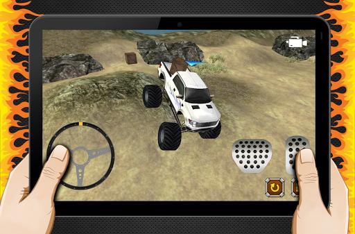 免費模擬App|4×4吉普車停車冒險3D|阿達玩APP
