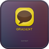 Gradient go launcher theme