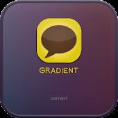 Gradient go launcher theme