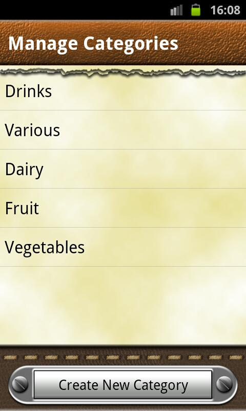 Grocery & Shopping List - screenshot