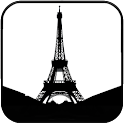 Eiffel Tower Silhouette icon