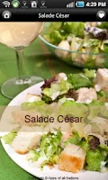Screenshot of iCuisine Salades Lite