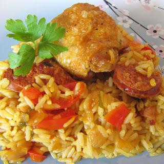 Chorizo & Chicken Paella