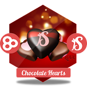 Chocolate Hearts GO Launcher