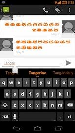 Tangerine CM11 AOKP Theme Screenshot 8