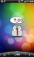 Screenshot of Pesoguin Clock Full -Penguin-