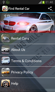 Find Rental Car - screenshot thumbnail
